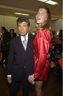 Edward Razek with Gisele Bundchen
