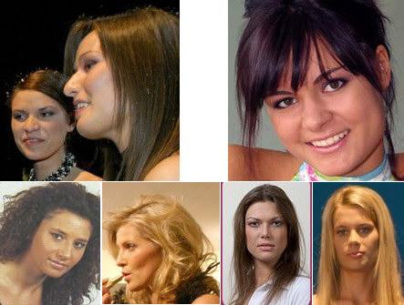 First row from left to right: Barbara Istigniejew, Anna Sadowska, Liliana Nogal.Second row from left to right: Agnieszka Wołochacz, Karolina Szubstarska, Katarzyna Heim, Joanna Kosior.