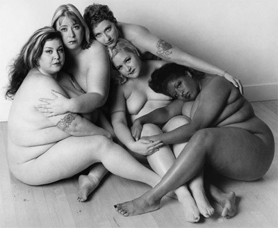 Obese models; Leonard Nemoy photography