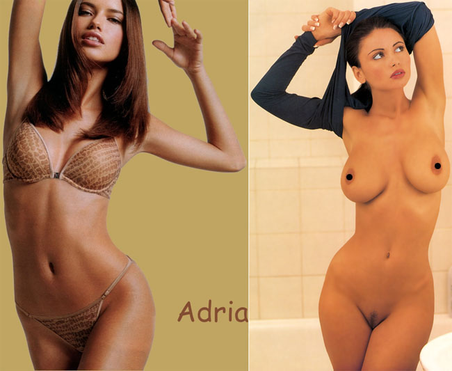 Adriana Lima, Veronika Zemanova