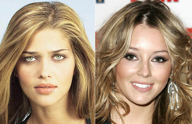 Ana Beatriz Barros, Keeley Hazell