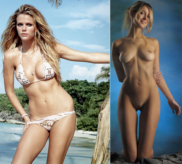 Brooklyn Decker and Corinna from Femjoy