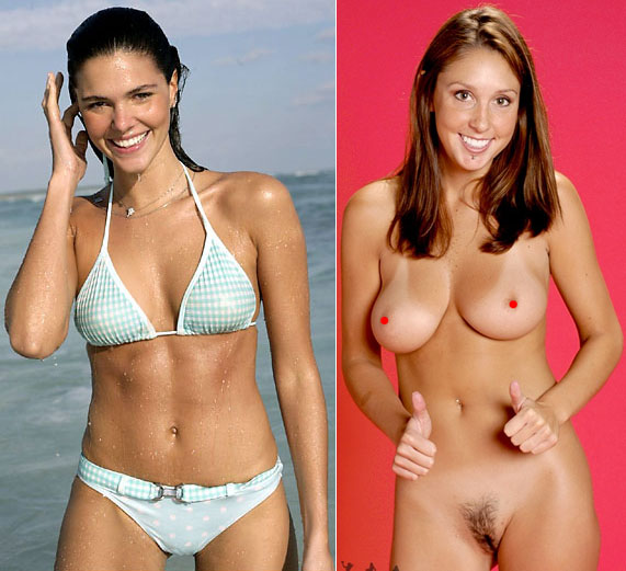 Daniella Sarahyba and Courtney from Courtney's camera; large breasts.