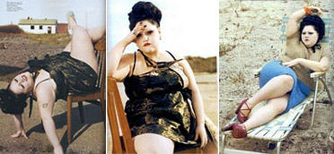 Beth Ditto in Pop magazine