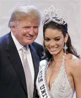 Donald Trump and Zuleyka Rivera