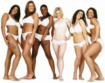 Dove campaign for real beauty models: Shanel, Julie, Lindsey, Sigrid, Gina, Stacy