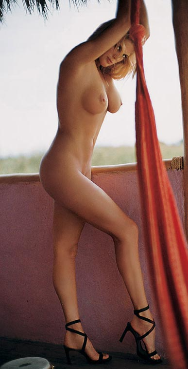 Rachel Hunter nude in Playboy