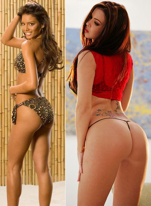 Zuleyka Rivera Mendoza and Natalia Cruze from DDgirls