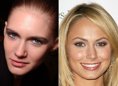 The aesthetics of the nasal bones in European women; Stacy Keibler.