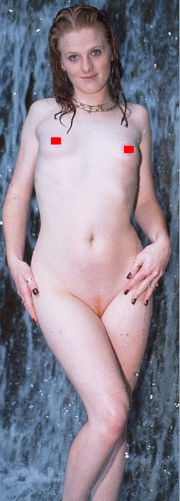 A masculinized woman with a large rib cage.