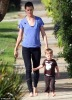 Bridget Moynahan with Tom Brady's son.