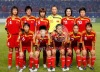 Women soccer players - China